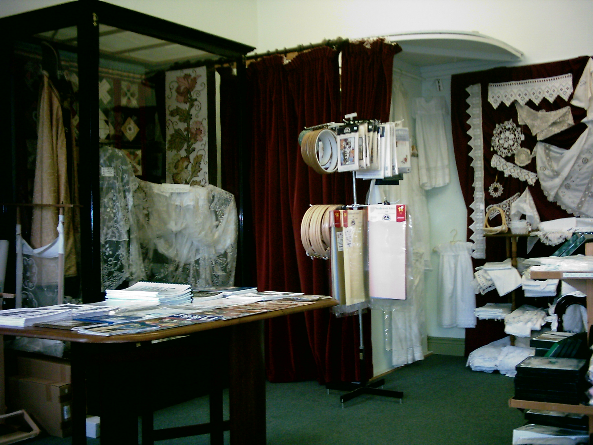 Inside the Kenmare Lace & Design Centre